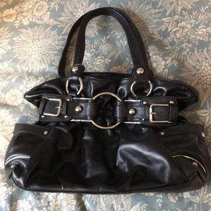 Wilsons Leather Black hobo bag